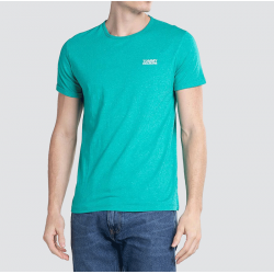 T-shirt Tommy Jeans vert